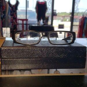 Prada black framed glasses